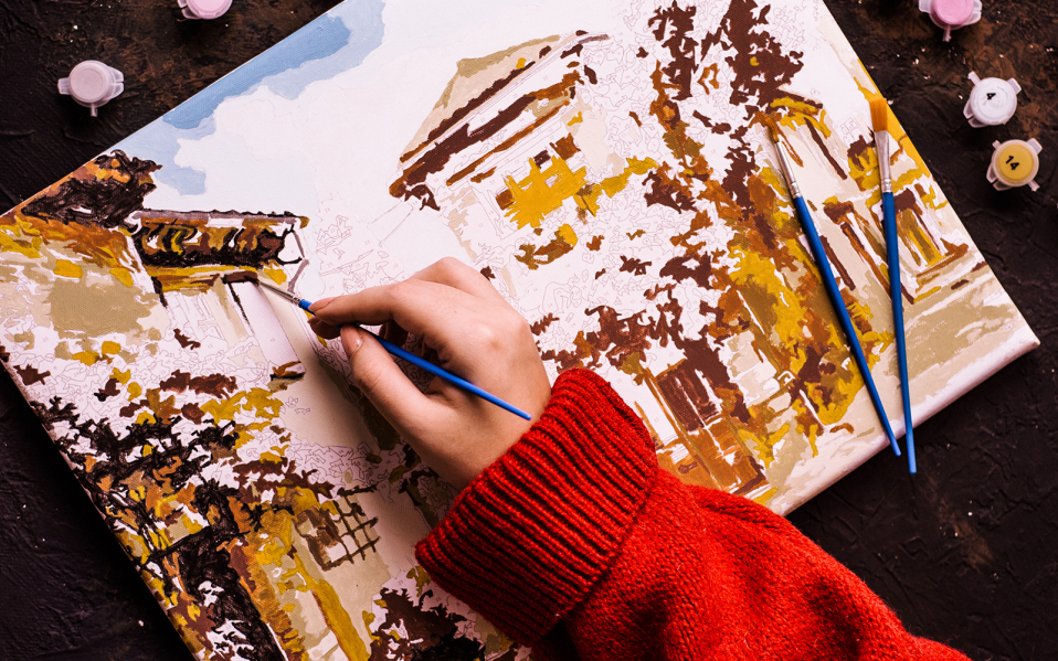 Why should you paint as an adult?